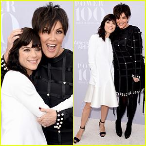Kris Jenner & American Crime Story's Selma Blair Meet Up at THR's Breakfast!