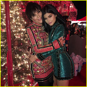 Kylie Jenner & Friends Attend Kris Jenner's 'Over the Top' Christmas Eve Party