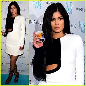 Kylie Jenner Celebrates Her Partnership with Nip + Fab