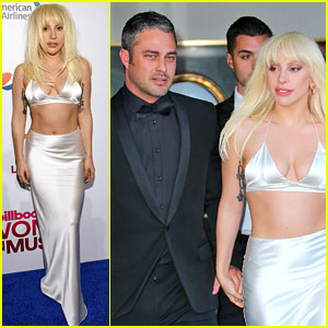 Lady Gaga Gets Taylor Kinney's Support at Billboard Women in Music 2015
