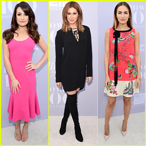 Lea Michele & Ashley Tisdale Celebrate THR's Power 100 List at Women In Entertainment Breakfast