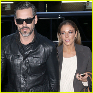 LeAnn Rimes Looks Chic While Out Promoting New Holiday Album