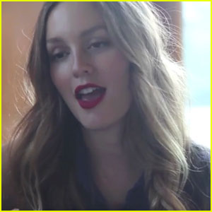 Leighton Meester Sings Cover of 'Blue Christmas' with Her BFF!