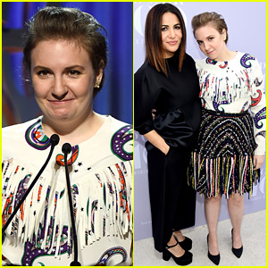 Lena Dunham Speaks to Room of 'Power B-tches' at THR's Women in Entertainment Breakfast!