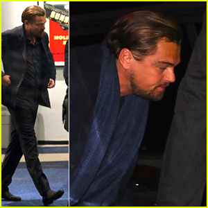 Leonardo DiCaprio Suits Up for 'The Revenant' Screening