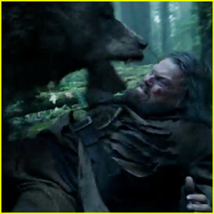 Leonardo DiCaprio Doesn't Get 'Raped By a Bear' in 'The Revenant' (Video)