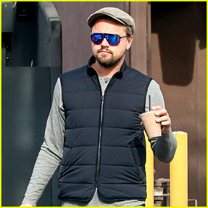 Leonardo DiCaprio Steps Out on Eve of 'The Revenant' Release