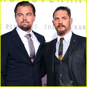 Leonardo DiCaprio & Tom Hardy Premiere 'The Revenant'