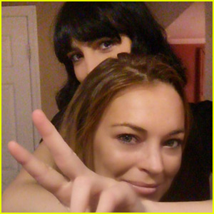 Lindsay Lohan FaceTimed Oprah on Christmas