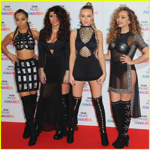 Little Mix & Ellie Goulding Step Out for BBC Music Awards 2015