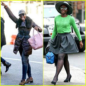 Lupita Nyong'o Looks Like She's Having the Best Sunday Ever!