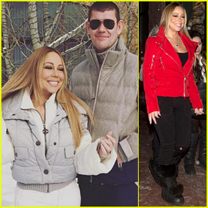 Mariah Carey & Boyfriend James Packer Are Ready for the Snow!
