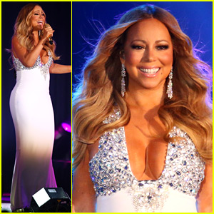 Mariah Carey Performs at Boyfriend James Packer's Melbourne Casino on New Year's Eve!
