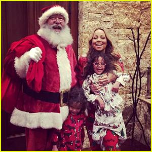 Mariah Carey's Kids Got a Christmas Eve Visit from Santa!