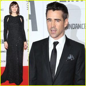 Marion Cotillard & Colin Farrell Hit the Moet British Independent Film Awards 2015 Red Carpet
