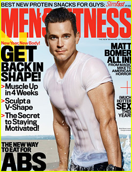 Matt Bomer's Washboard Abs Show Through His Wet T-Shirt for 'Men's Fitness'!
