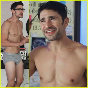 Matt Dallas Goes Shirtless in Just His Underwear for Web Series