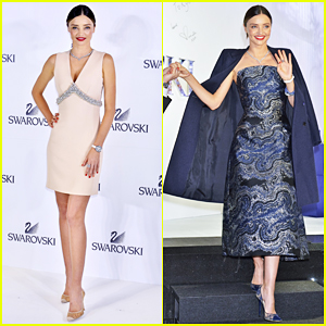 Miranda Kerr Launches Swarovski Jewelry Collection In Tokyo!