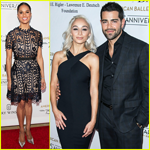 Misty Copeland & Jesse Metcalfe Put On Their Best For American Ballet Theatre Holiday Benefit!