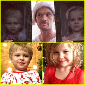 Neil Patrick Harris Shares Pics & Videos from Christmas 2015!