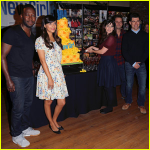 Zooey Deschanel Celebrates 100 Episodes of 'New Girl'!