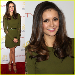 Nina Dobrev Celebrates 'The Beauty Book For Brain Cancer' With Jamie Chung
