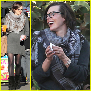 Nothing Makes Milla Jovovich Happier Than Her Loved Ones!