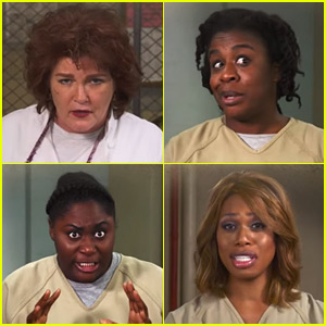 'Orange is the New Black' Cast Gets in the Holiday Spirit - Watch Now!