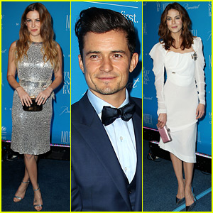 Orlando Bloom & Riley Keough Have a 'Good' Reunion at UNICEF's Snowflake Ball