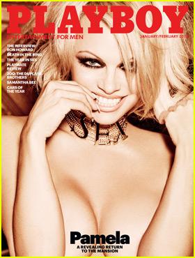 Pamela Anderson Covers 'Playboy' January/February 2016