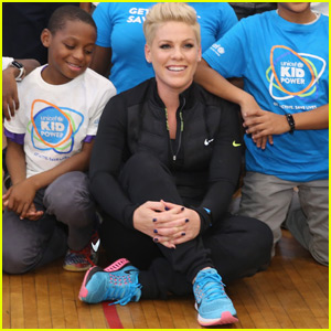 Pink Becomes UNICEF Ambassador & Joins Fight to End Malnutrition