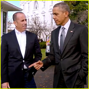 President Barack Obama on Jerry Seinfeld's 'Comedians In Cars Getting Coffee' - Watch Now!