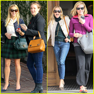 Reese Witherspoon Hangs with Funny Ladies Chelsea Handler & Lena Dunham!