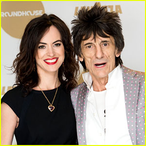 Rolling Stones' Ronnie Wood Is Expecting Twins with Wife Sally