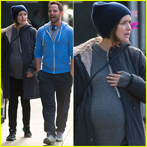 Rose Byrne Makes a Look of Horror During Walk with Nick Kroll