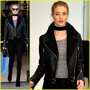 Rosie Huntington-Whiteley Gets A Head Start on Her Holiday Shopping
