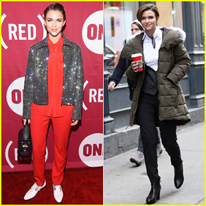 Ruby Rose Sparkles At (RED) Concert After Filming 'John Wick 2'!