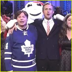 Ryan Gosling Is Joined By Mike Myers During His 'SNL' Monologue - Watch Now!