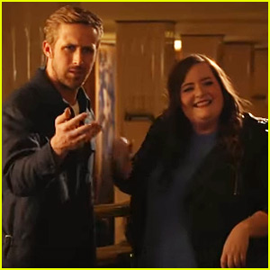 SNL's Aidy Bryant Tries to Trick Ryan Gosling Into Kissing Her - Watch Now!