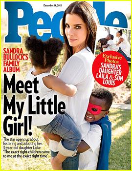 Sandra Bullock Explains How She Kept New Daughter Laila a Secret From the World