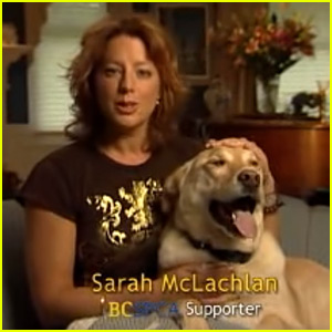 Sarah McLachlan Says She Can't Watch Her ASPCA Ads Either