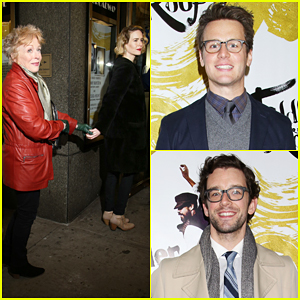 Sarah Paulson & Girlfriend Holland Taylor Hold Hands at 'Fiddler on the Roof' Opening Night!