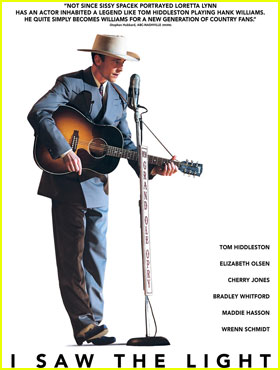 Tom Hiddleston Becomes Hank Williams for New 'I Saw the Light' Poster & Stills