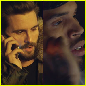 Scott Disick Cameos in Chris Brown's 'Picture Me Rollin' Video