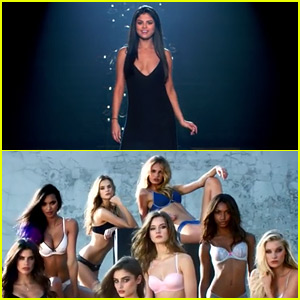 Selena Gomez & the Victoria's Secret Angels Lip Sync 'Hands to Myself' - Watch Now!