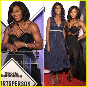 Serena Williams Accepts Sports Illustrated's Sportsperson of the Year Award - Watch Her Speech Here!