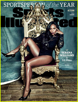 Serena Williams Is Sports Illustrated's Sportsperson of the Year!