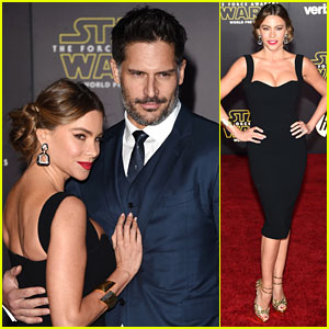 Sofia Vergara Wears Princess Leia-Inspired Buns to 'Star Wars' Premiere with Joe Manganiello!