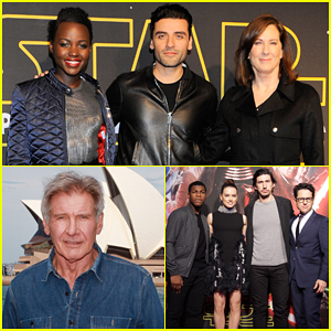 'Star Wars: The Force Awakens' Cast Make Their Rounds Across The Globe!