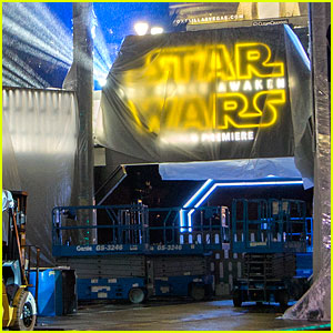 'Star Wars: The Force Awakens' Hollywood Premiere - See All the Major Preparations!
